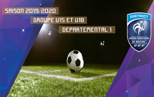 U15 COMPOSITION DES GROUPES EN DEPARTEMENTAL 1